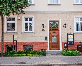 wejście do apartamentu - poznań